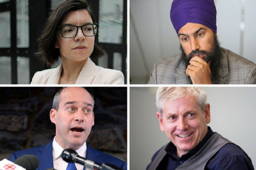 A few thoughts on the federal NDP leadership race