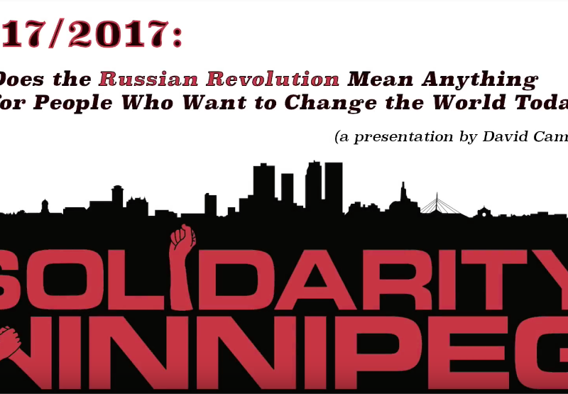 Russia from Revolution to Counter-Revolutionary Dictatorship — and What It Means for Us Today
