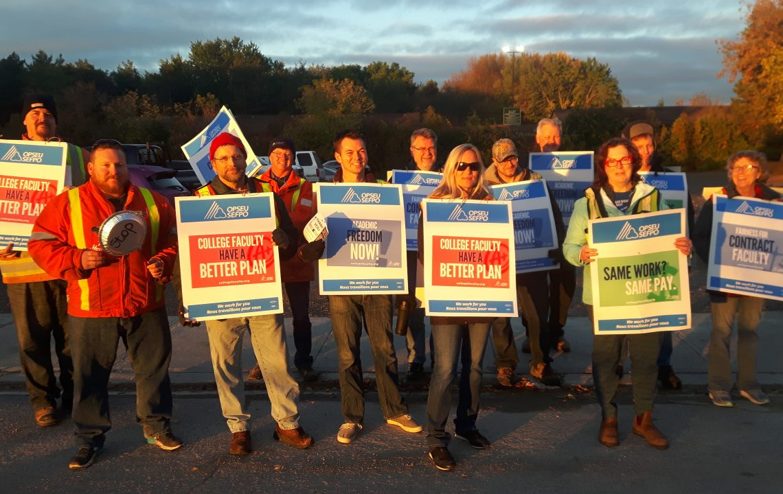 Striking Against Precarious Employment: Reflections on the Ontario College Teachers' Walkout