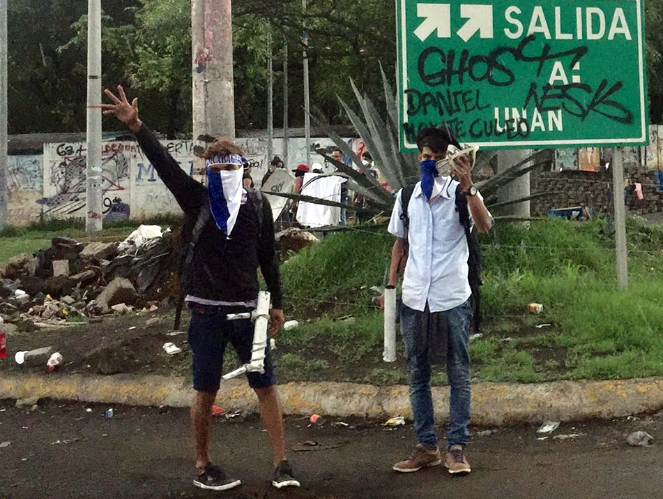 Roadblocks and possibilities: The Nicaraguan student insurrection
