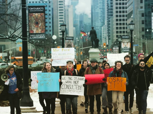 Ford, Do Not Expect Complacency –                            We the students fight back against cuts to education