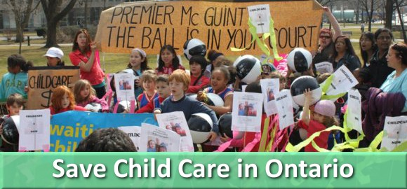 Can Ontario Get Child Care?