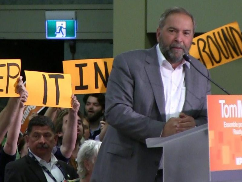 Three Reasons to Hope for an NDP Victory (in spite of what the party has become)