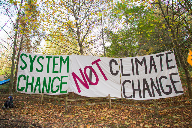 Confronting Climate Change means Confronting Capitalism